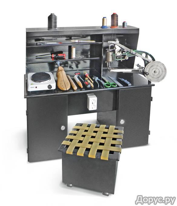 Рабочий стол сапожника для ремонта обуви - Промышленное оборудование - Потребляемая мощность 1800Вт/..., фото 1