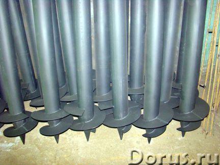 Фундамент свайно-винтовой - Строительные услуги - Винтовые сваи заводского производства в наличии и..., фото 1